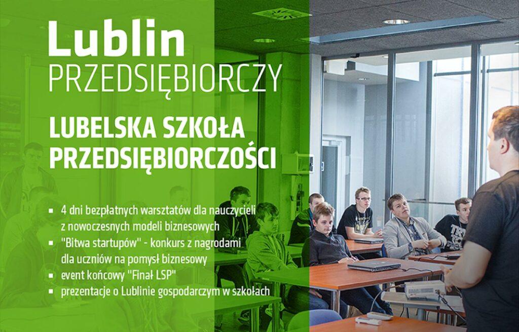 Lubelska Szkoła Przedsiębiorczości - ulotka